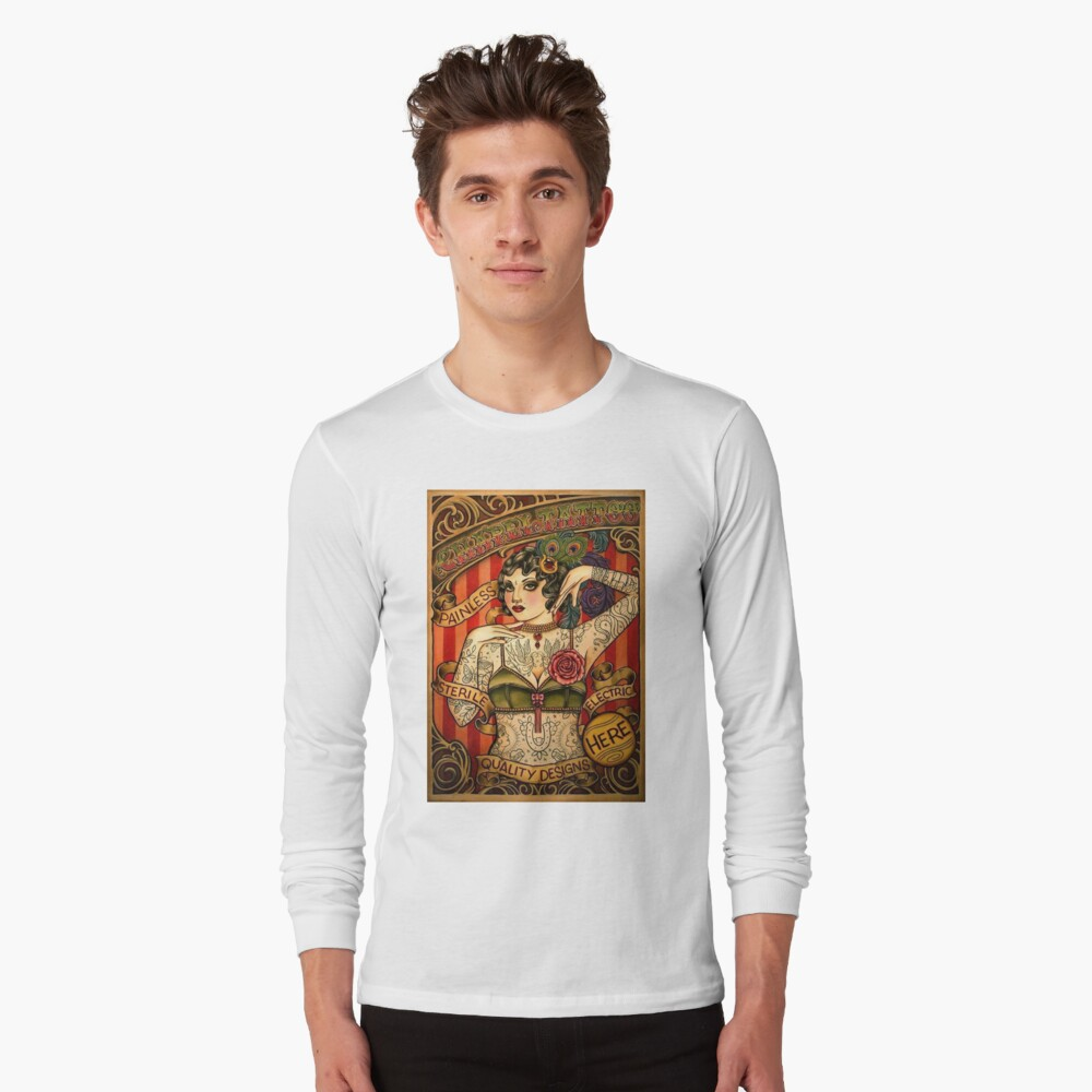 Chapel Tattoo Vintage Body Advertising Art T Shirt By Posterbobs Redbubble