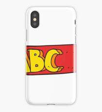 cartoon ABC symbol iPhone Case/Skin