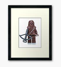 Chewbacca 2 Framed Print