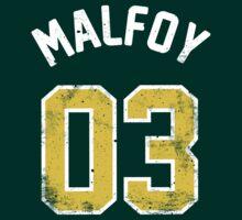 Draco Malfoy - Quidditch Shirt - NO.3 | Unisex T-Shirt