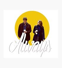 Caskett - Always Photographic Print