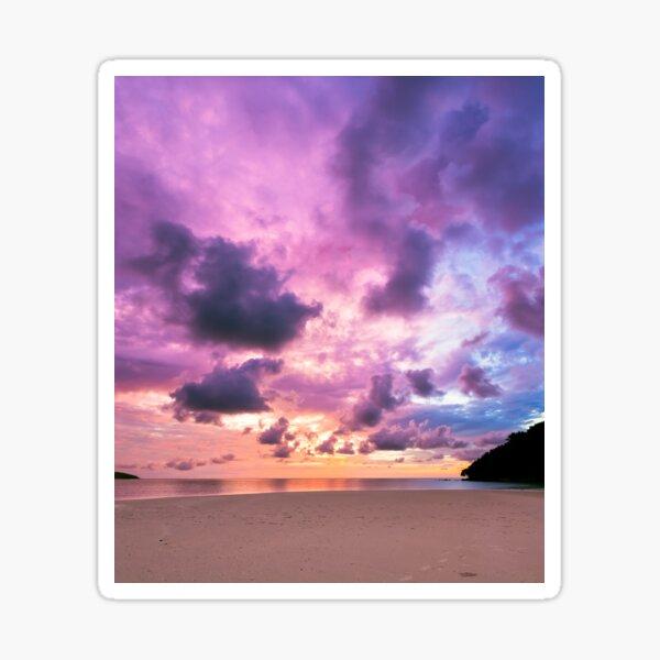 Epic sunset Sticker