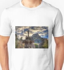 Ross Fountain And Edinburgh Castle Unisex T-Shirt