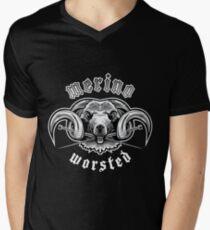 Heavy Metal Knitting - Merino - Worsted Men's V-Neck T-Shirt