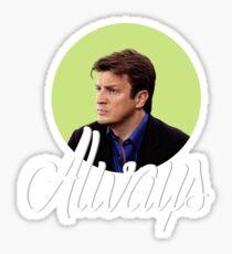 Richard Castle - Always Sticker