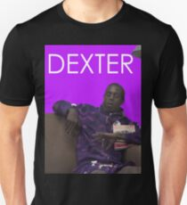 dexter - purple Unisex T-Shirt