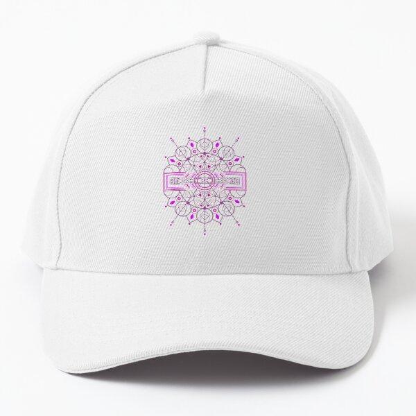 Karmic Light Code - Mother Nature's Call (Purple / Pink Recolor) Baseball Cap
