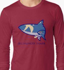 The Big Hungry Shark Long Sleeve T-Shirt