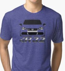 MKV Golf R32 Front Tri-blend T-Shirt