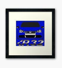 MKV Golf R32 Front Framed Print