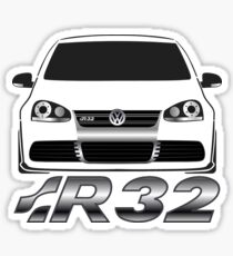 MKV Golf R32 Front Sticker