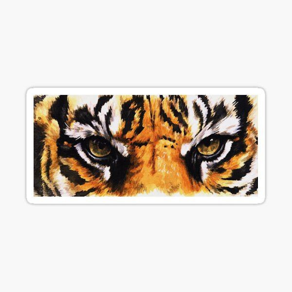 Sumatran Tiger of Indonesia Sticker