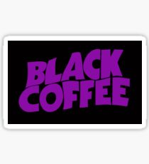 Black Coffee Sticker