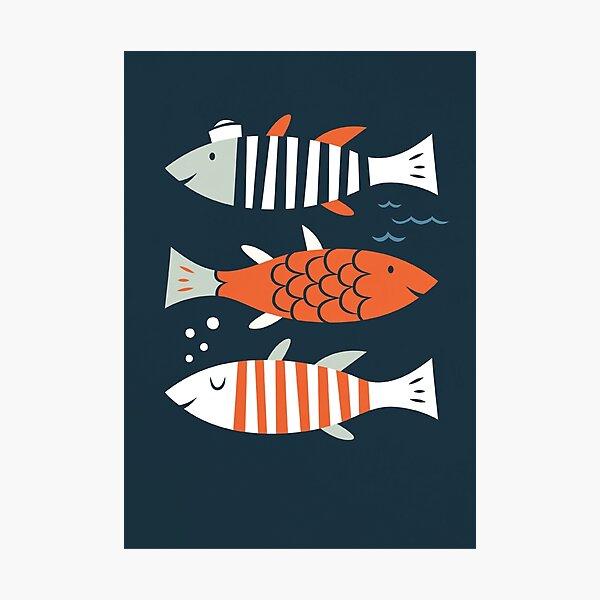 HELLO FISH! Photographic Print