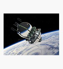 The first spaceship at the orbit Photographic Print
