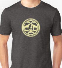 Giraffen vereint gegen Deckenventilatoren Slim Fit T-Shirt