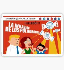 Christmas Invasion Sticker