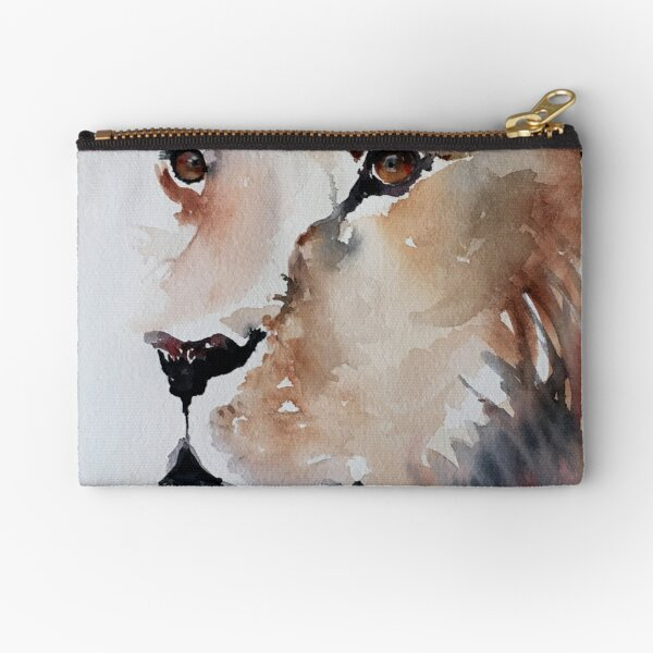 Lion Eyes Zipper Pouch