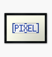 [PIXEL] Framed Print