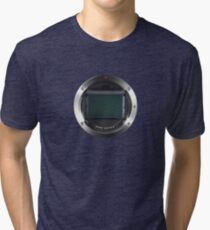 Lens Mount - Attach Lens Here Tri-blend T-Shirt