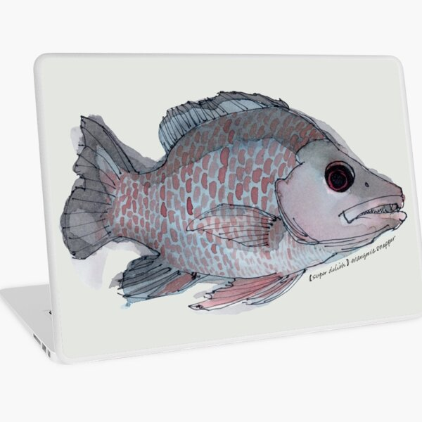 (Super Delish) Mangrove Snapper Laptop Skin