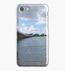 The Long Bridge linking Tuncurry & Forster, N.S.W. Nth. Coast. Aust. iPhone Case/Skin
