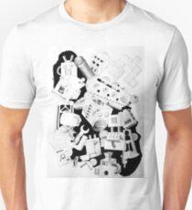 machine drawing T-Shirt