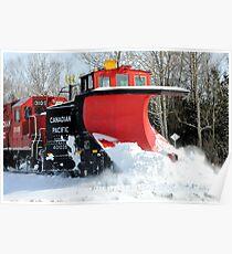 Snow Plow Poster