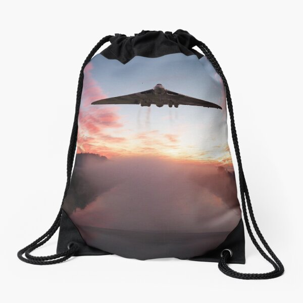 An Aviation Icon Drawstring Bag
