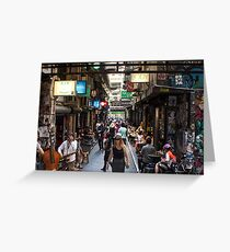 ~ Degraves Street ~ Greeting Card
