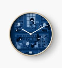 Silence in the Library Clock