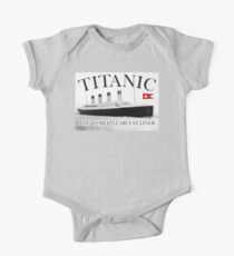 TITANIC, RMS Titanic, Cruise, Ship, Disaster One Piece - Short Sleeve