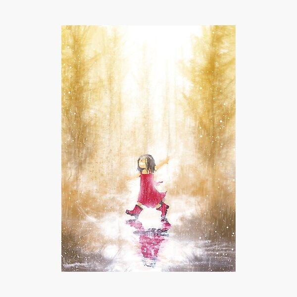 Sunshower Photographic Print
