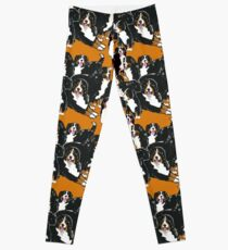 Bernese Mountain Dog Family Leggings