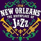 Birthplace of Jazz by machmigo