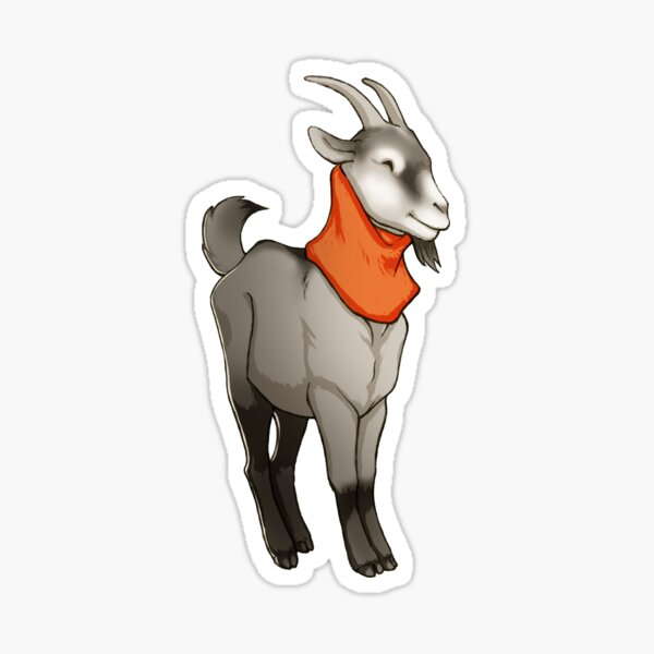 Goat Cowl Sticker