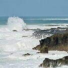 Waves & Surf action after the storm! East Ballina, N.S.W. North Coast. Aust. by Rita Blom