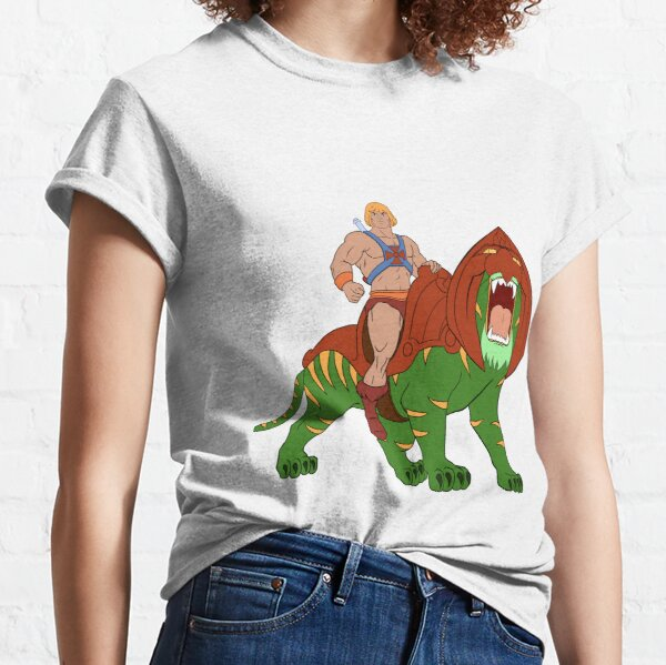 He-man and Tiger Tribute Classic T-Shirt