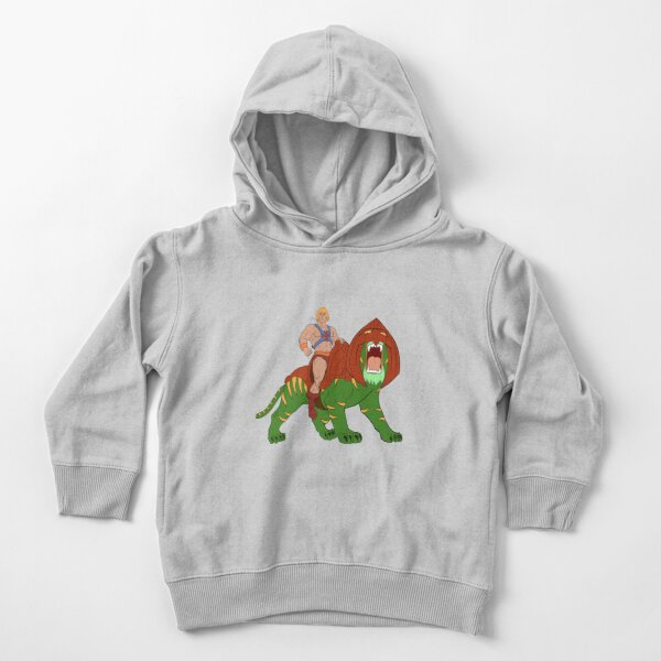 He-man and Tiger Tribute Toddler Pullover Hoodie