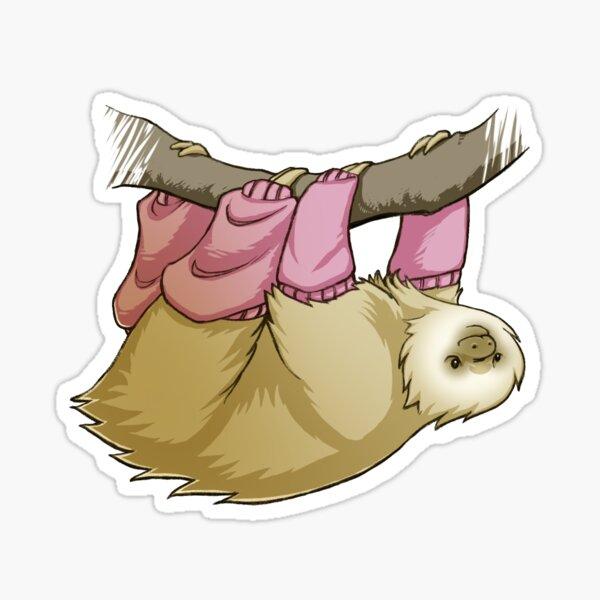 Sloth Warmers Sticker