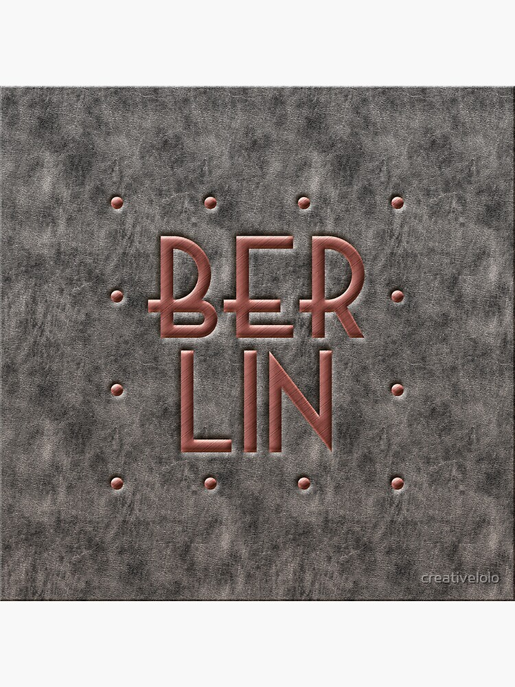 Berlin, leather and metal by creativelolo