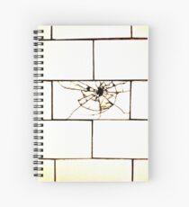 Cracked Subway tile Spiral Notebook