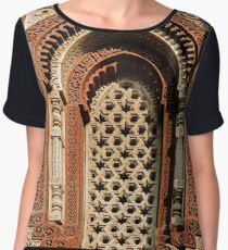 Kutab Minar Detail 1 Women's Chiffon Top
