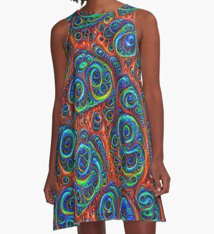 Dark Boost chromaticity #Deepdream A-Line Dress