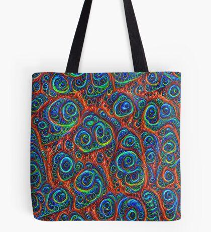 Dark Boost chromaticity #Deepdream Tote Bag