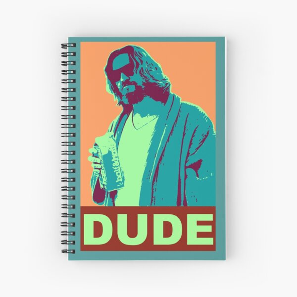The Dude Propaganda Spiral Notebook