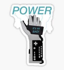 POWER. Sticker