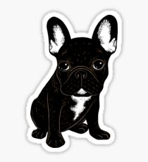 Brindle Bouledogue français Sticker