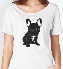 Brindle French Bulldog  Women's Relaxed Fit T-Shirt
