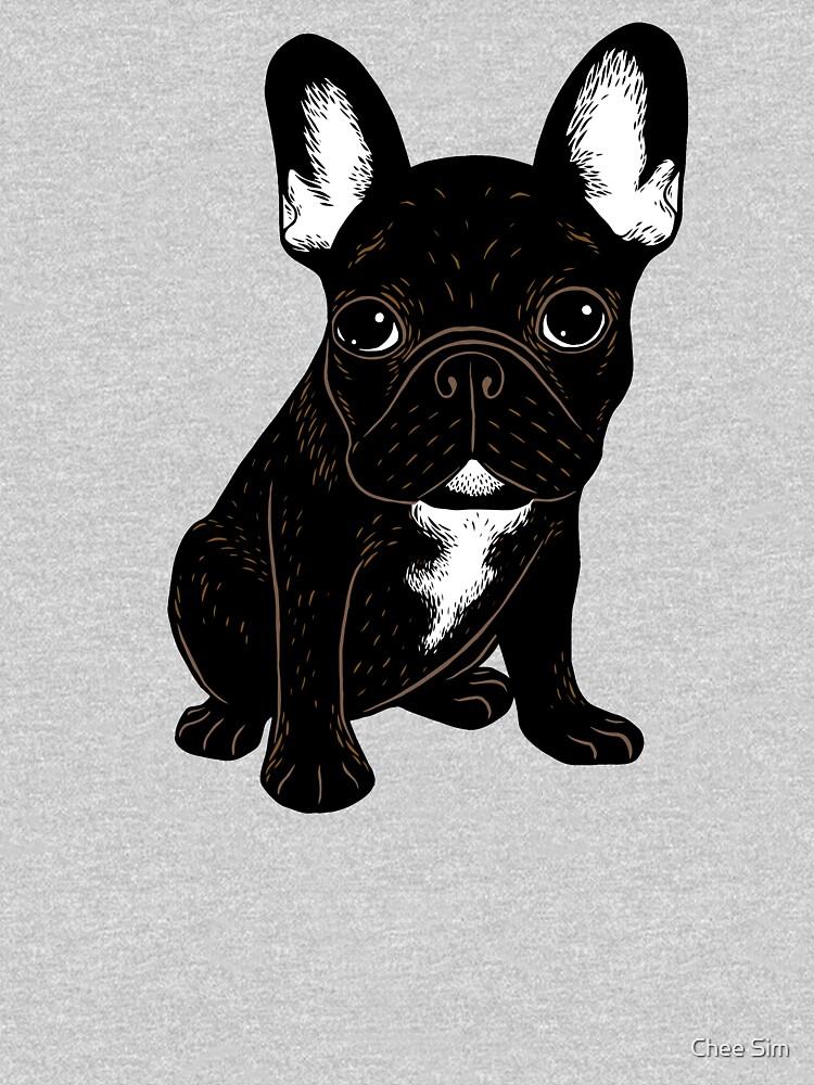 Brindle French Bulldog  by cheesim